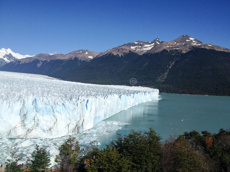 lodowa perito Moreno zdjęcia royalty free