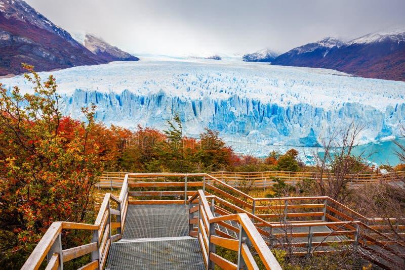 lodowa perito Moreno zdjęcie royalty free