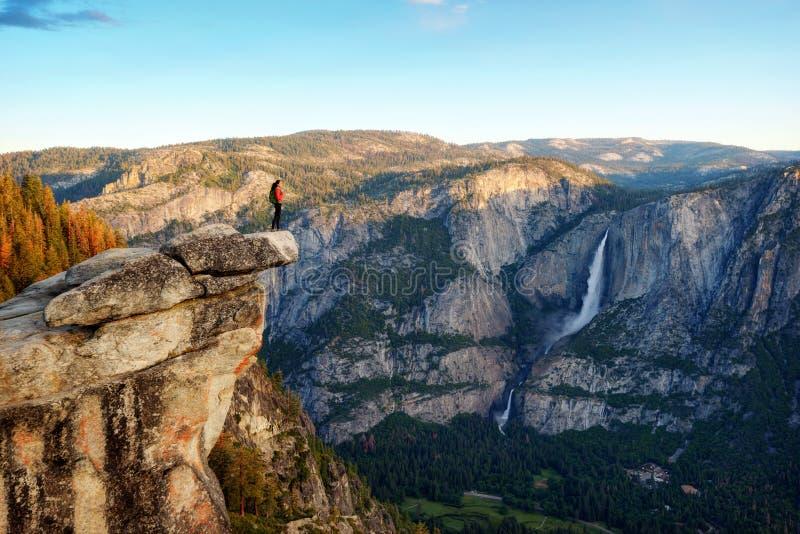 Lodowa punkt, Yosemite NP, usa fotografia stock