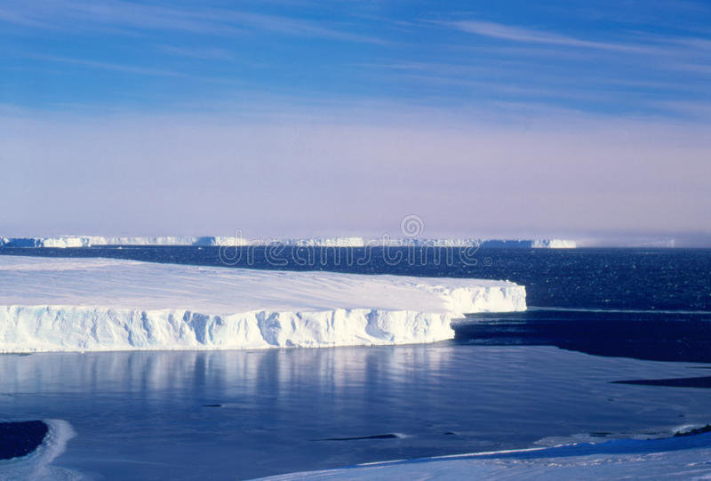 lodowa vanderford obraz stock