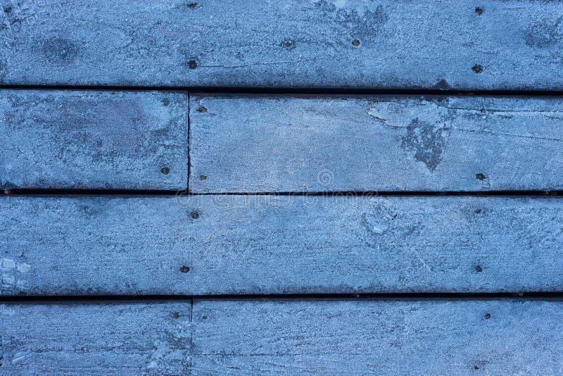 Lodowata Drewniana Domowa Podłoga obrazy royalty free