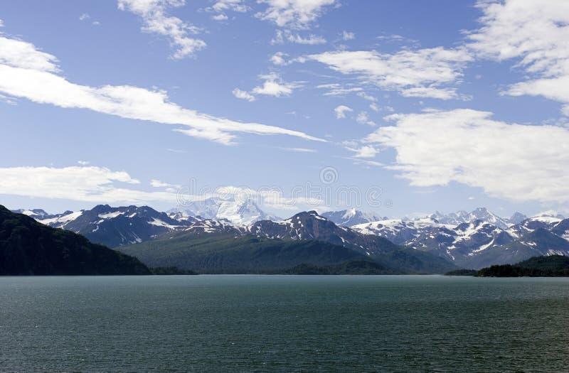 lodowca bay park narodowy fotografia royalty free
