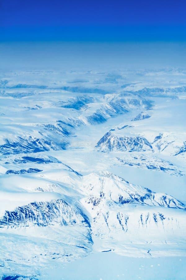 lodowce Grenlandii zdjęcia stock