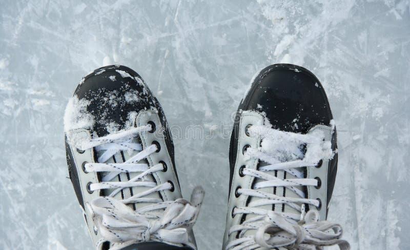 lodowe łyżwy obrazy stock
