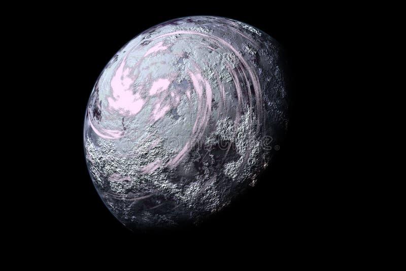 Download Lodowe planety ilustracji. Ilustracja złożonej z księżyc - 25953