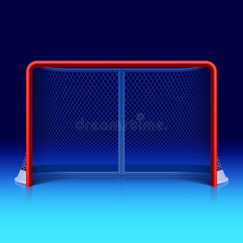 Lodowego hokeja sieć royalty ilustracja