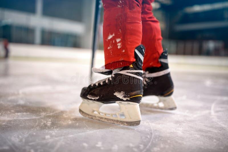 Lodowego hokeja sporta rywalizaci pojęcie zdjęcia stock