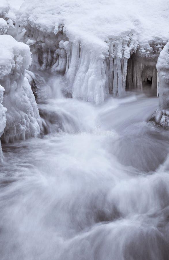 lodowi gwałtowni obraz stock