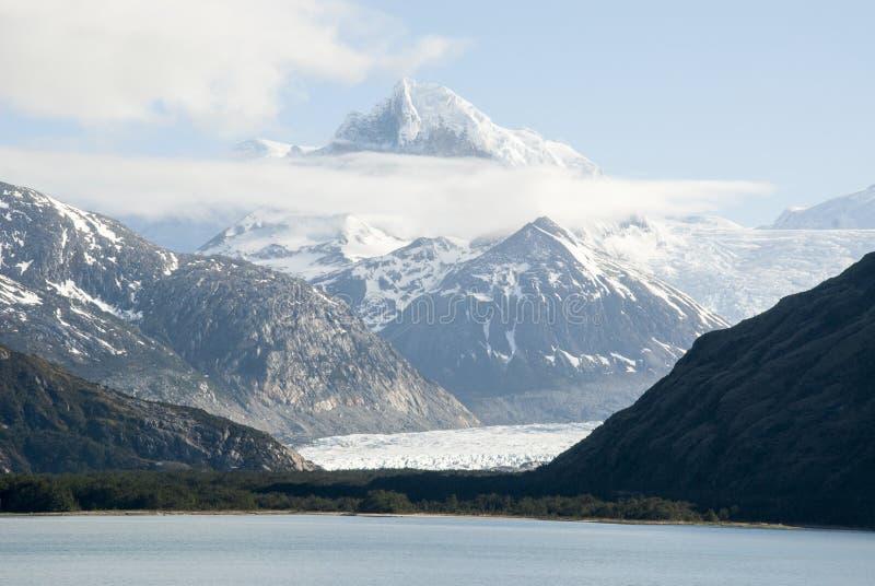 Lodowiec aleja - Patagonia Argentyna obraz stock