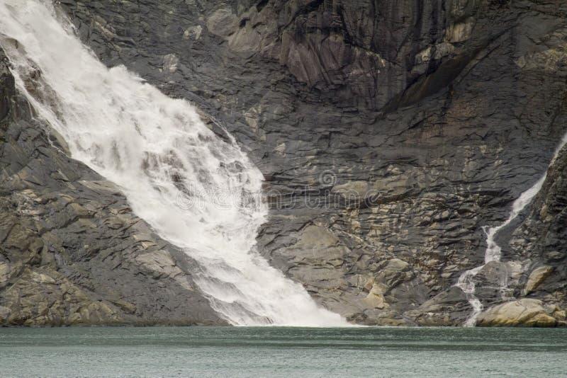 Lodowiec aleja - Patagonia Argentyna fotografia stock