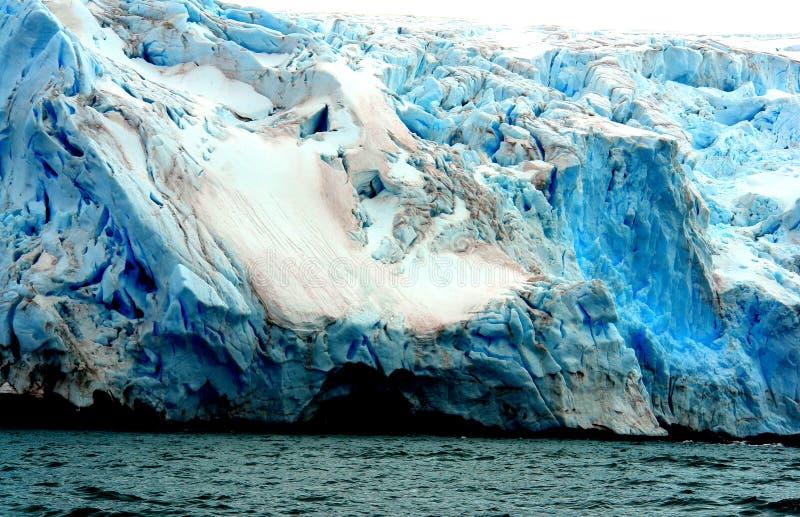 Lodowiec Antarctica zdjęcia royalty free