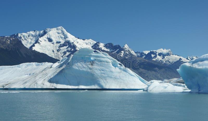 Lodowiec Krajowy Parc, Patagonia, Argentyna obraz stock