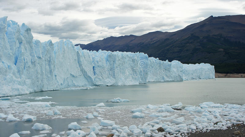 Lodowiec Perito Moreno, Patagonia, Argentyna obrazy stock