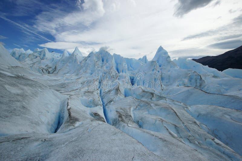 Lodowiec Perito Moreno, Patagonia, Argentyna fotografia stock