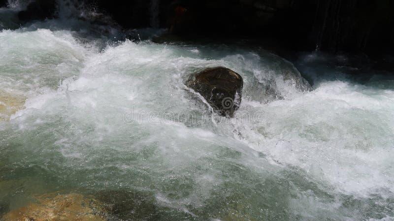 Lodowiec woda Babusar wierzchołek obraz royalty free