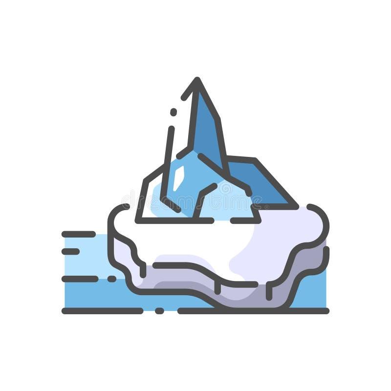 lodowowie ilustracja wektor