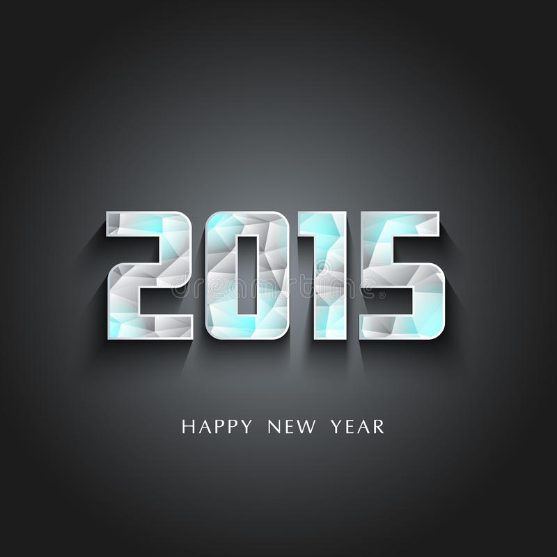 Lodowowie 2015 Szczęśliwych nowy rok ilustracja wektor