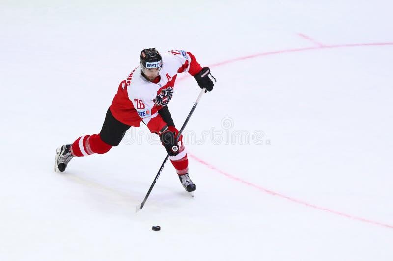 Lodowy hokej 2017 Światowych mistrzostw Div 1 w Kyiv, Ukraina zdjęcie royalty free