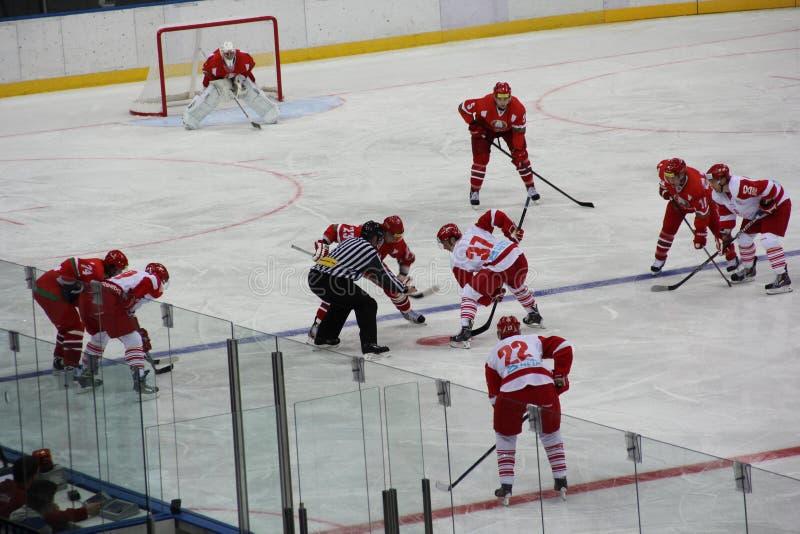 Lodowy hokej obrazy stock