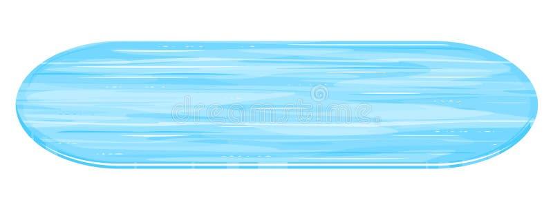 Lodowy lodowisko Isoated ilustracja wektor