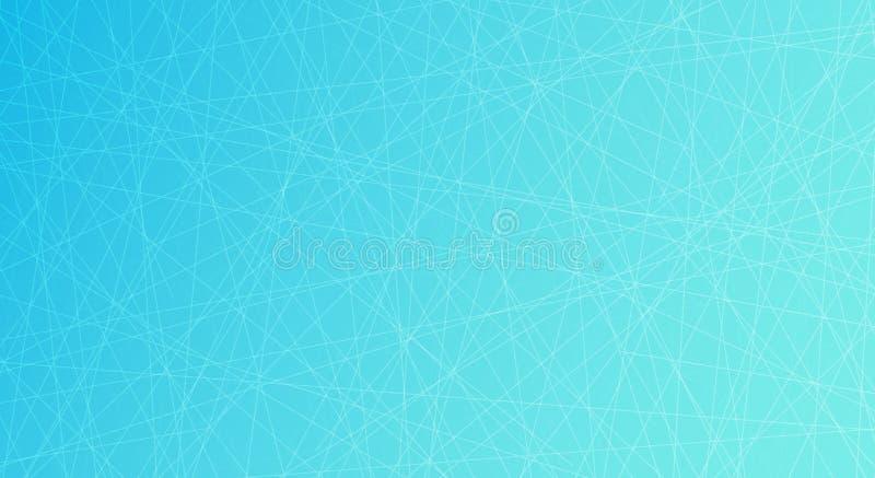 Lodowy lodowisko tło płatków śniegu biały niebieska zima Zasięrzutny widok również zwrócić corel ilustracji wektora royalty ilustracja