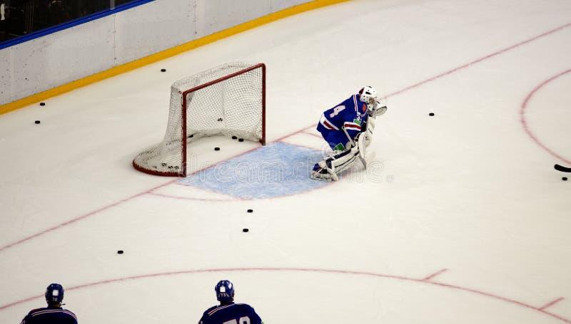 Lodowy mecz hokeja zdjęcie stock