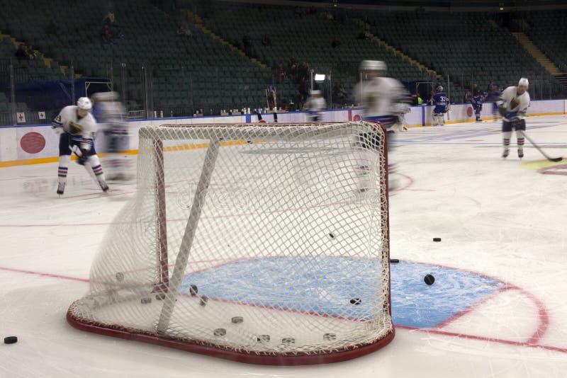 Lodowy mecz hokeja obrazy stock
