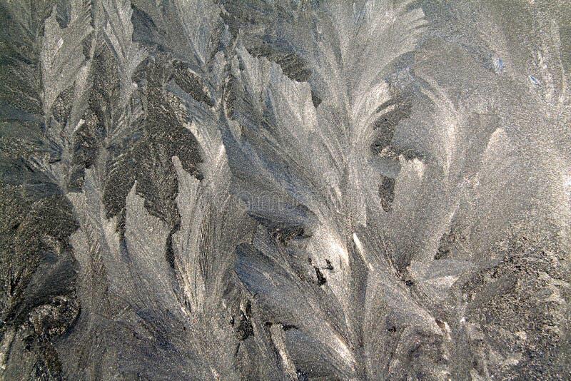 Download Lodowy okno zdjęcie stock. Obraz złożonej z rime, natura - 13329210