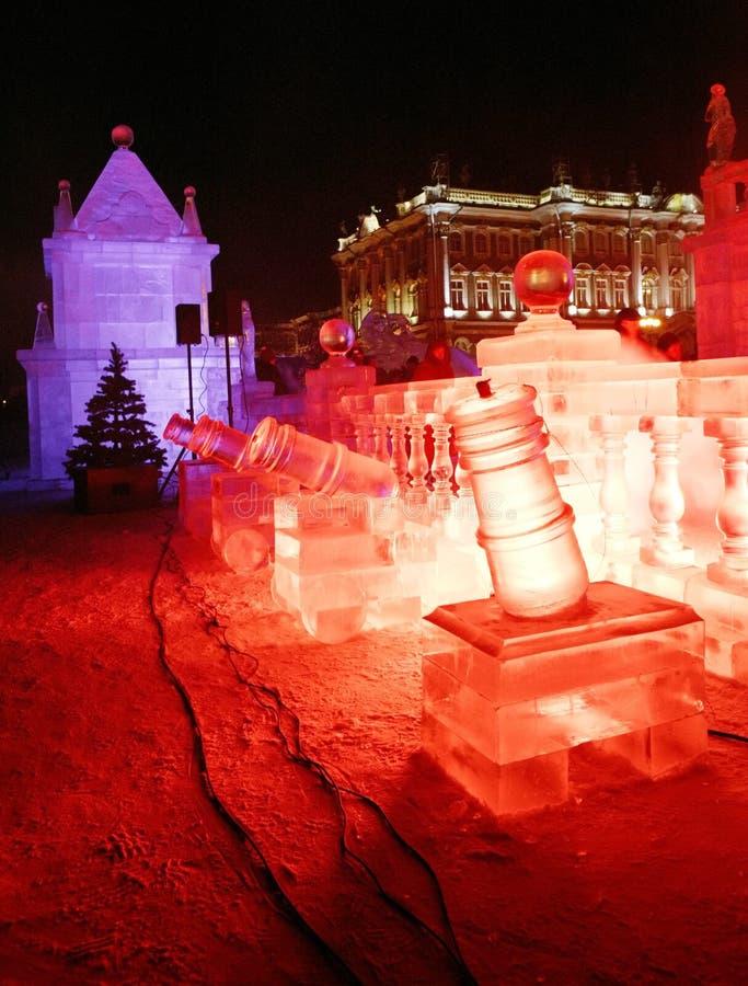 lodowy pałac zdjęcia stock