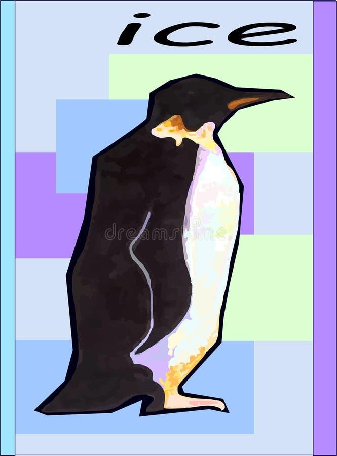 Lodowy penguinin zdjęcia stock