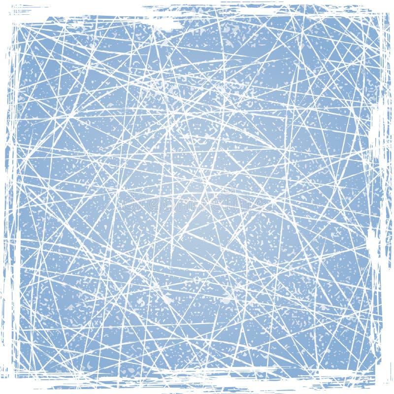 Lodowy tekstury tło. Wektor ilustracja wektor