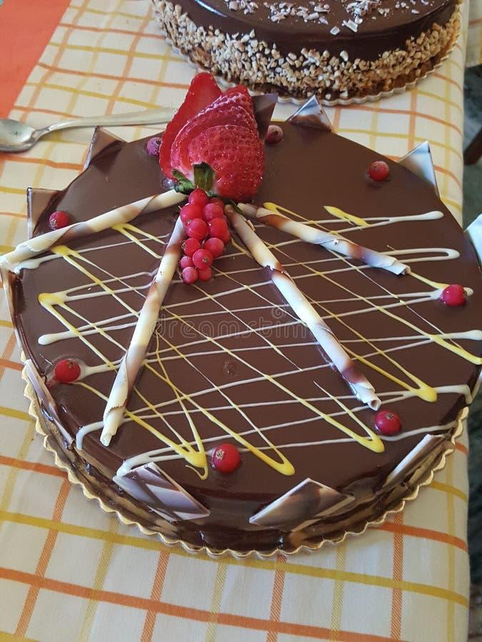 Lodowy tort zdjęcie stock