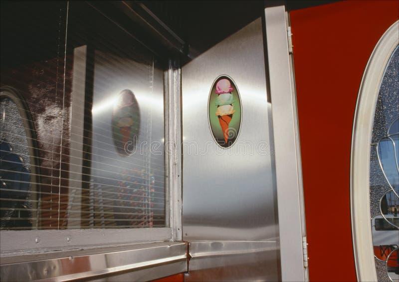 Lody Szyszkowy gość restauracji obrazy royalty free