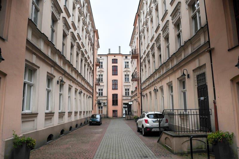 Lodz, Pologne, juillet 2018 Cour, photo libre de droits