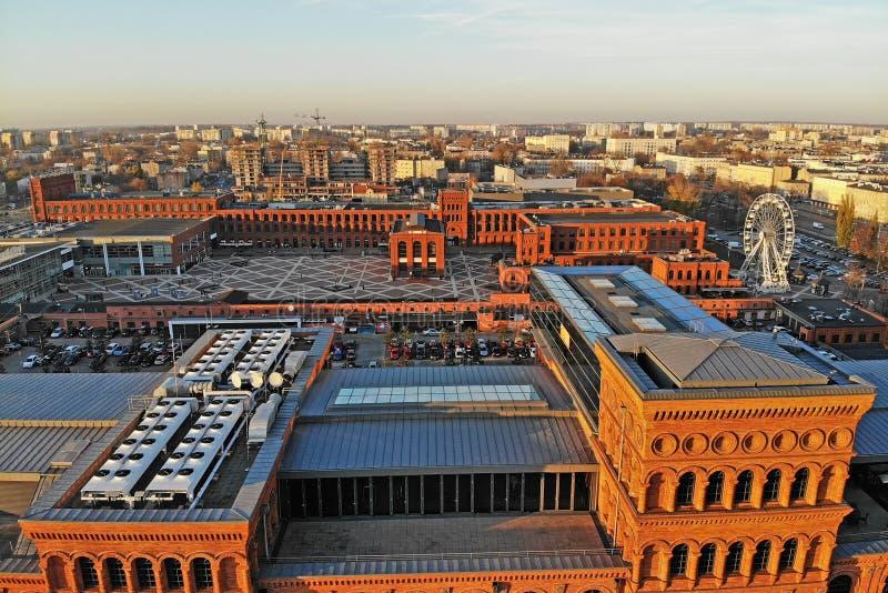 Lodz, Polonia Manufaktura foto de archivo libre de regalías