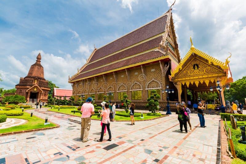 LOEI, THAÏLANDE 28 JUIN : Wat Neramit Wipatsana Loei, Thaïlande À image libre de droits
