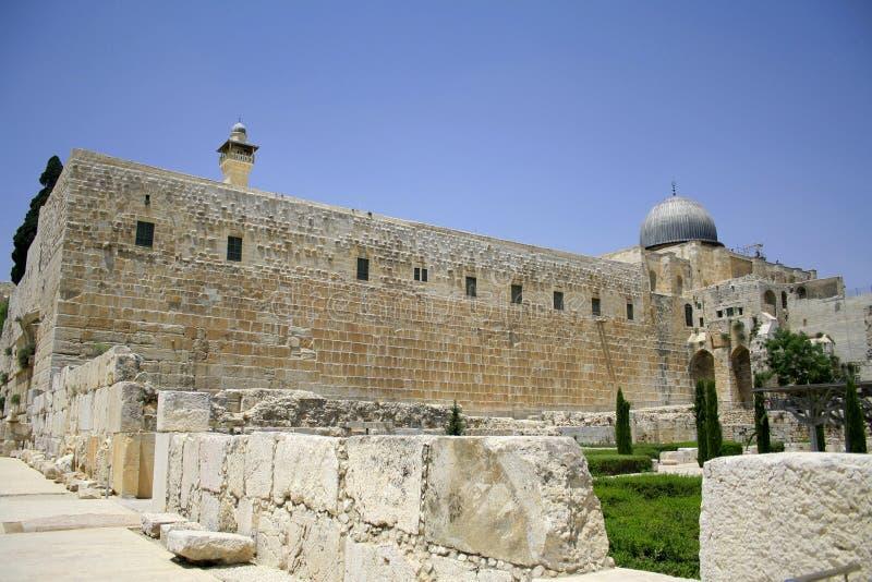 Loeiende muur, Jeruzalem royalty-vrije stock afbeelding