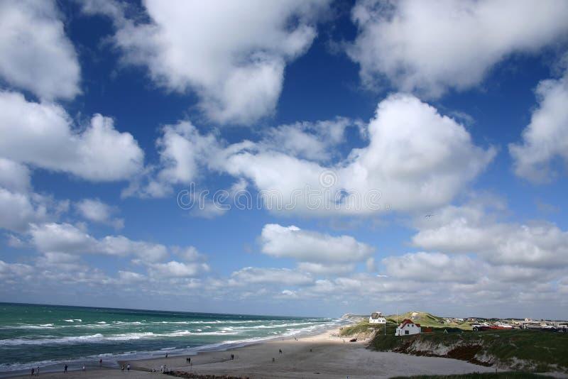 Download Loekken photo stock. Image du océan, libre, côte, sable - 730244