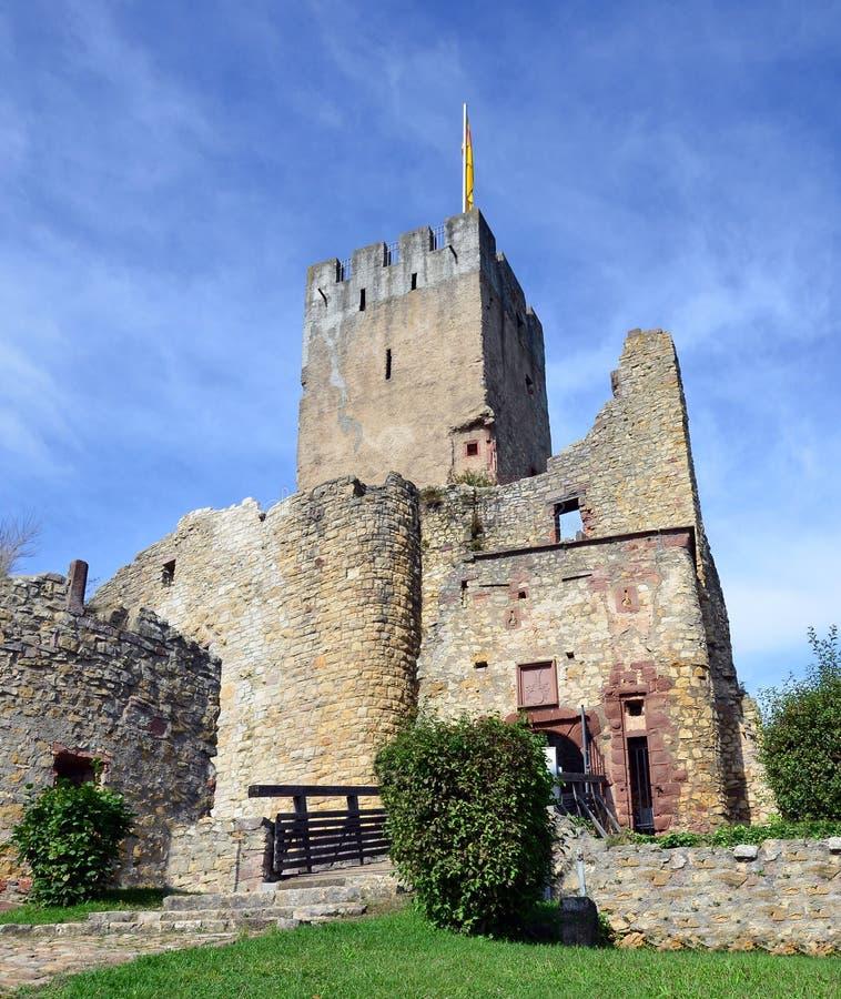 Loerrach - Burg Roetteln obraz royalty free