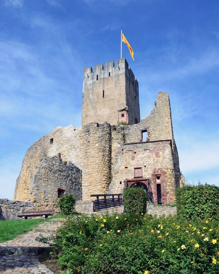 Loerrach - småstad Roetteln royaltyfri foto