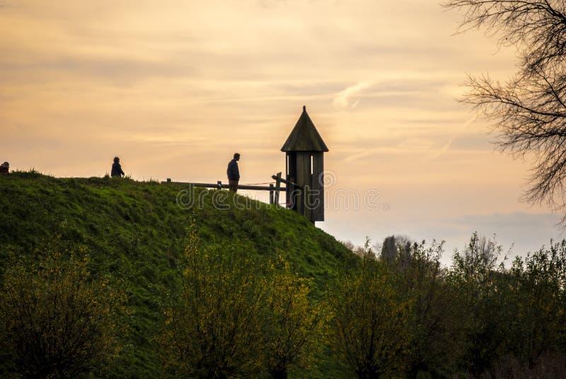 Loevestein - Holanda fotografía de archivo libre de regalías