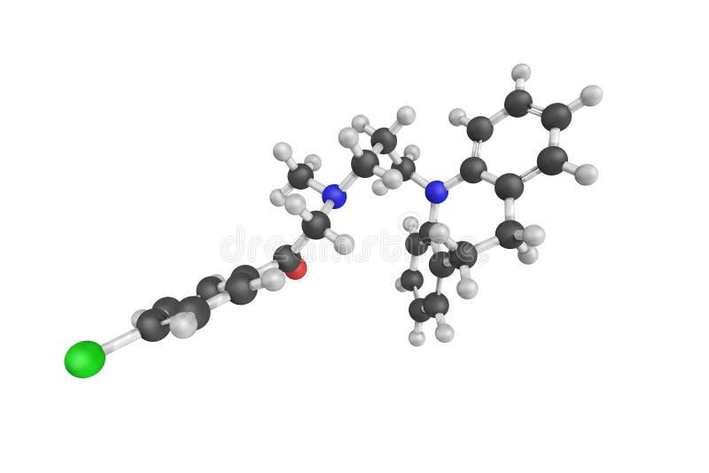 Lofepramine, derde generatie tricyclic kalmerend, introd royalty-vrije stock afbeeldingen