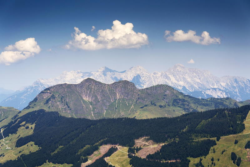 Loferer Steinberge - Mitterhorn, Reifhorn, Grosses Ochsenhorn, Austria. Loferer Steinberge - Mitterhorn, Reifhorn, Grosses Ochsenhorn in Austria royalty free stock images