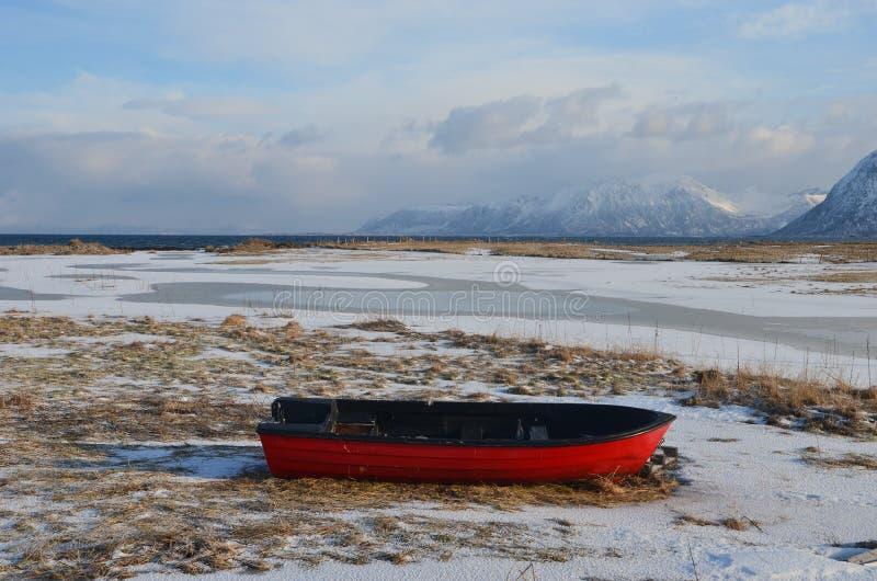 Lofoten海岛,挪威 免版税库存照片