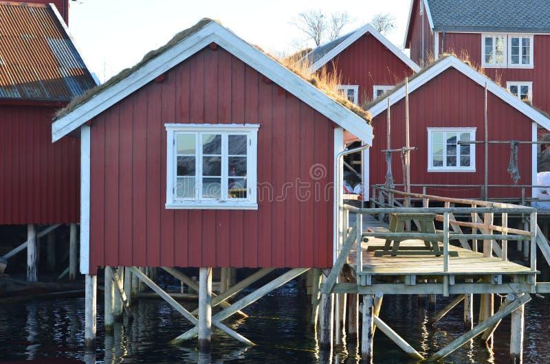 Lofoten海岛,挪威 库存照片