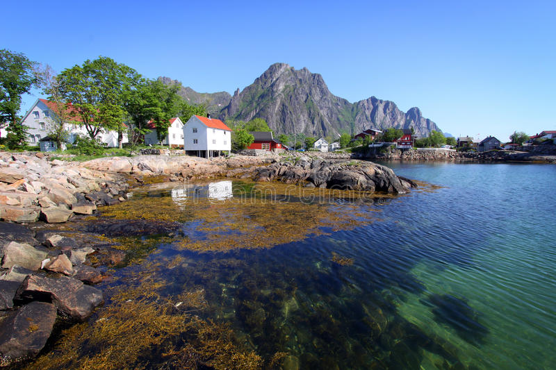 Lofoten Islands II stock image