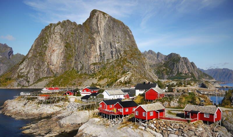 Lofoten, Norway, Fishing Village royalty free stock photo
