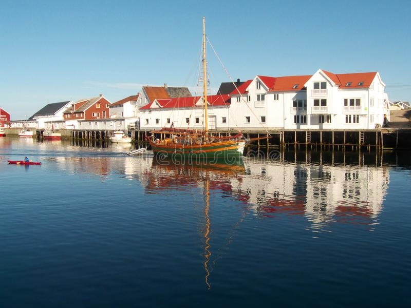 Download The Lofoten's canal grande stock image. Image of north - 6185375