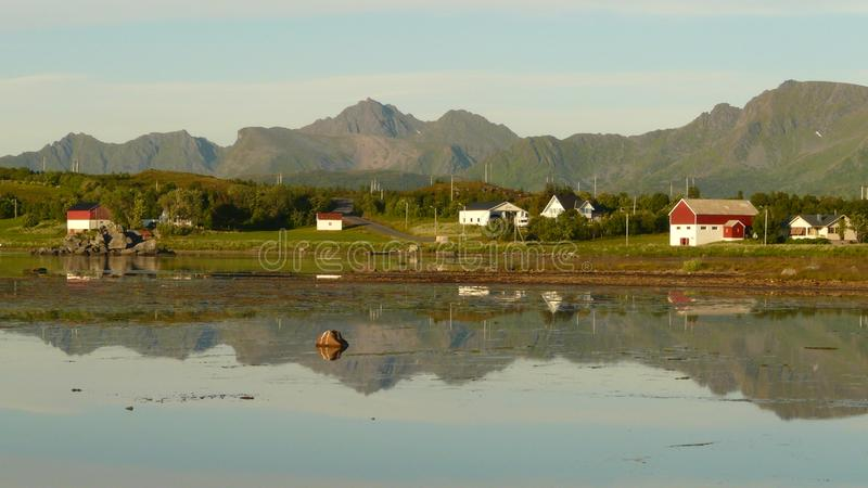 Download Lofoten' summer night stock image. Image of country, background - 6177359