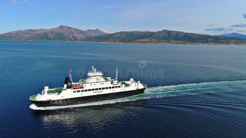 Lofoten wyspy są archipelagiem w okręgu administracyjnym Nordland, Norwegia obrazy stock